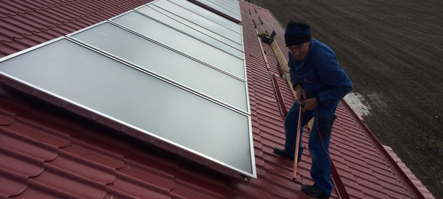 Sistem cu panouri solare plane apollon 31.2 mp 2.000l