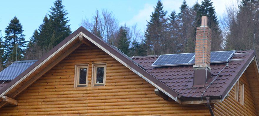 Instalatie cu panouri fotovoltaiceSharp  380W