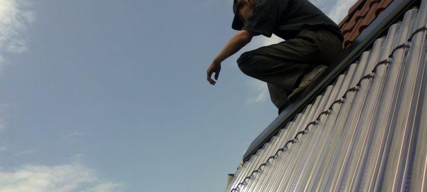 Instalatie cu panou solar Thermomax HP200 – apa calda 200l