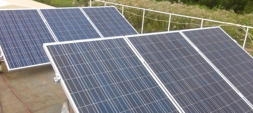 Sistem fotovoltaic ponton – Calarasi