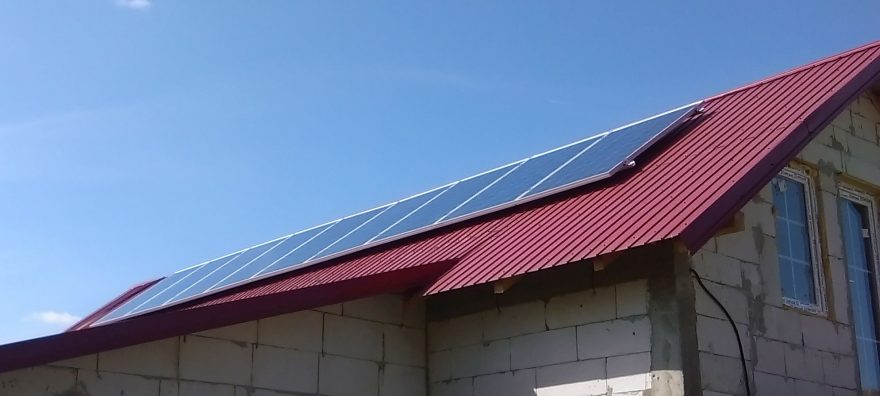 Sistem fotovoltaic independent de 2.56KW – jud Bacau