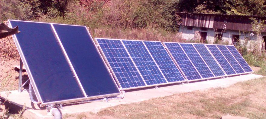 Sistem fotovoltaic Canton Silvic Snagov