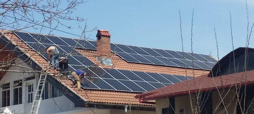 Sistem fotovoltaic cu conectare la retea de 18KW
