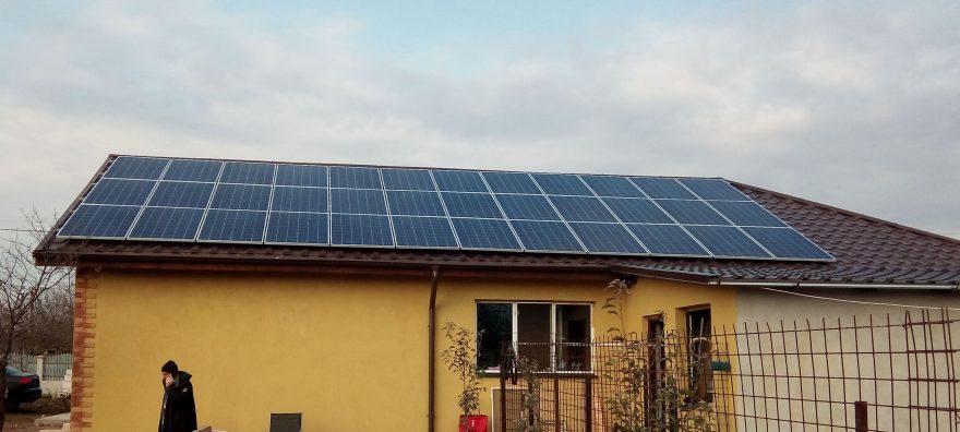 Sistem fotovoltaic de 10.24KW cu conectare la retea (on-grid)