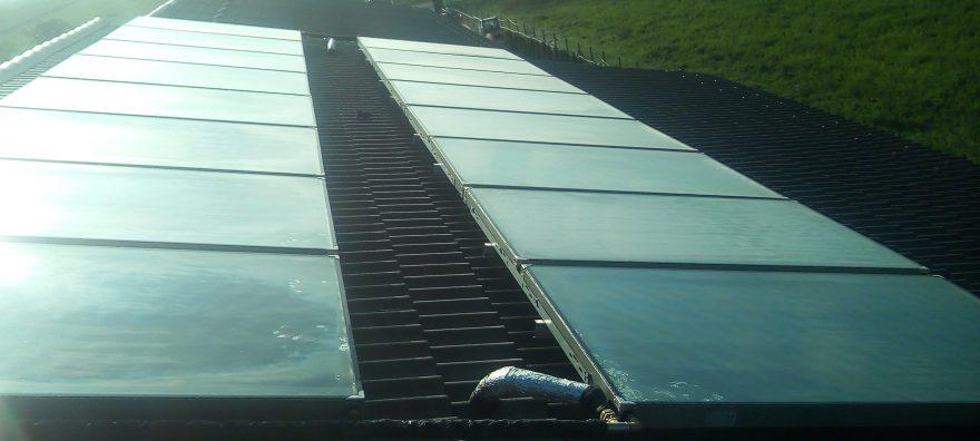 Sistem solar termic cu 16 panouri solare Theano 2.5